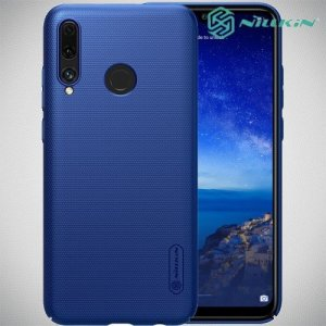 NILLKIN Super Frosted Shield Клип кейс накладка для Huawei Honor 20 Lite - Синий