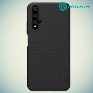 NILLKIN Super Frosted Shield Клип кейс накладка для Huawei Nova 5T - Черный