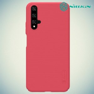 NILLKIN Super Frosted Shield Клип кейс накладка для Huawei Honor 20 - Красный