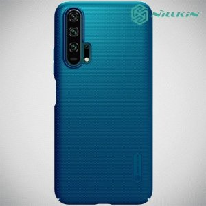 NILLKIN Super Frosted Shield Клип кейс накладка для Huawei Honor 20 Pro - Синий