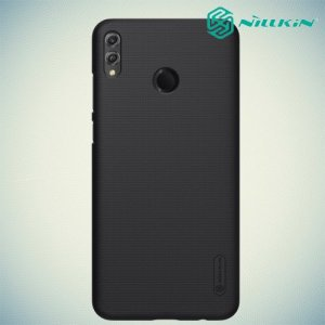 NILLKIN Super Frosted Shield Клип кейс накладка для Huawei Honor 8X - Черный