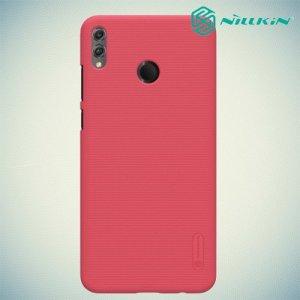 NILLKIN Super Frosted Shield Клип кейс накладка для Huawei Honor 8X - Красный