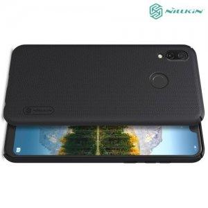 NILLKIN Super Frosted Shield Клип кейс накладка для Huawei Honor Play - Черный