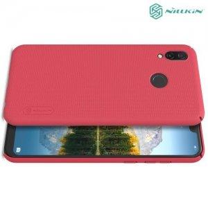 NILLKIN Super Frosted Shield Клип кейс накладка для Huawei Honor Play - Красный