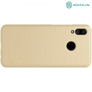 NILLKIN Super Frosted Shield Клип кейс накладка для Huawei Nova 3 - Золотой