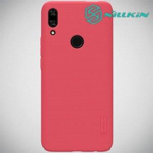 NILLKIN Super Frosted Shield Клип кейс накладка для Huawei P Smart Z - Красный