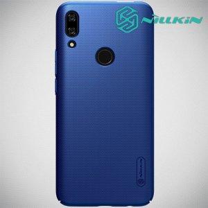NILLKIN Super Frosted Shield Клип кейс накладка для Huawei P Smart Z - Синий