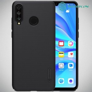 NILLKIN Super Frosted Shield Клип кейс накладка для Huawei P30 Lite - Черный