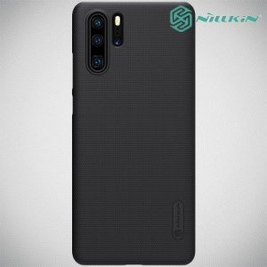 NILLKIN Super Frosted Shield Клип кейс накладка для Huawei P30 Pro - Черный
