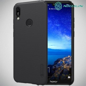 NILLKIN Super Frosted Shield Клип кейс накладка для Huawei Y6 2019 / Y6s - Черный