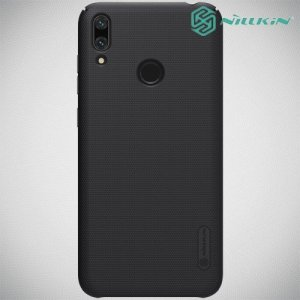 NILLKIN Super Frosted Shield Клип кейс накладка для Huawei Y7 / Y7 Pro 2019 - Черный