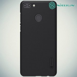 NILLKIN Super Frosted Shield Клип кейс накладка для Huawei Y9 2018 - Черный