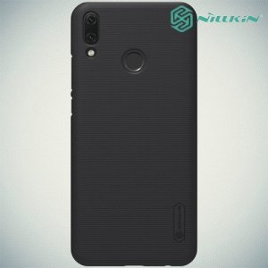 NILLKIN Super Frosted Shield Клип кейс накладка для Huawei Y9 2019 - Черный