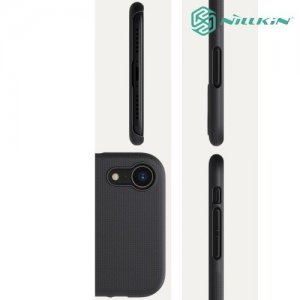 NILLKIN Super Frosted Shield Клип кейс накладка для iPhone XR - Черный
