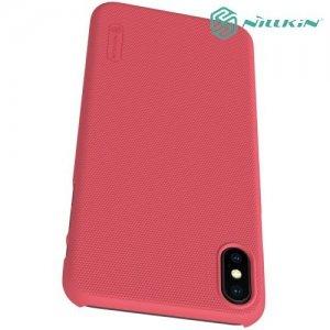 NILLKIN Super Frosted Shield Клип кейс накладка для iPhone Xs Max - Красный