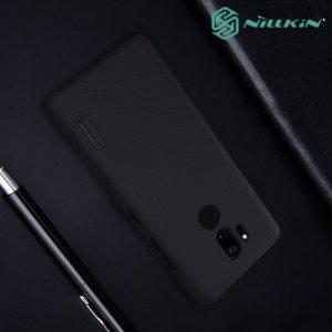 NILLKIN Super Frosted Shield Клип кейс накладка для LG G7 ThinQ - Черный