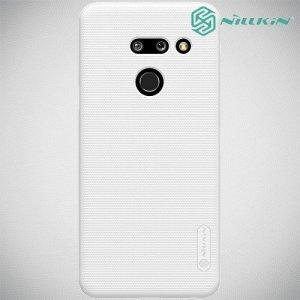 NILLKIN Super Frosted Shield Клип кейс накладка для LG G8 ThinQ - Белый