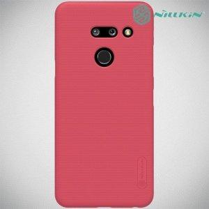 NILLKIN Super Frosted Shield Клип кейс накладка для LG G8 ThinQ - Красный