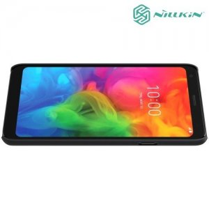 NILLKIN Super Frosted Shield Клип кейс накладка для LG Q7 / Q7+ / Q7a - Черный