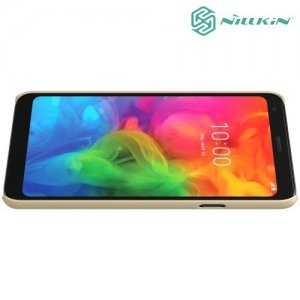 NILLKIN Super Frosted Shield Клип кейс накладка для LG Q7 / Q7+ / Q7a - Золотой