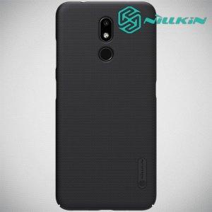 NILLKIN Super Frosted Shield Клип кейс накладка для Nokia 3.2 - Черный
