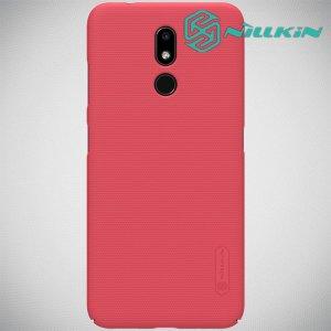NILLKIN Super Frosted Shield Клип кейс накладка для Nokia 3.2 - Красный