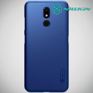 NILLKIN Super Frosted Shield Клип кейс накладка для Nokia 3.2 - Синий