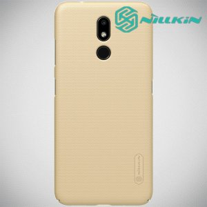 NILLKIN Super Frosted Shield Клип кейс накладка для Nokia 3.2 - Золотой
