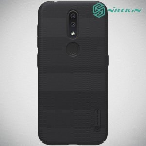 NILLKIN Super Frosted Shield Клип кейс накладка для Nokia 4.2 - Черный