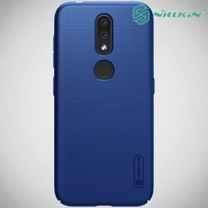 NILLKIN Super Frosted Shield Клип кейс накладка для Nokia 4.2 - Синий