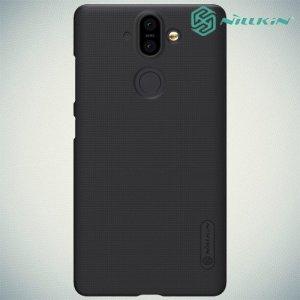 NILLKIN Super Frosted Shield Клип кейс накладка для Nokia 8 - Черный
