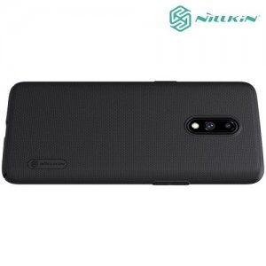 NILLKIN Super Frosted Shield Клип кейс накладка для OnePlus 7 - Черный