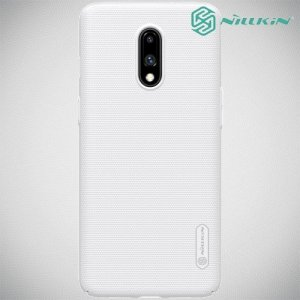 NILLKIN Super Frosted Shield Клип кейс накладка для OnePlus 7 - Белый