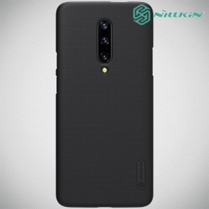 NILLKIN Super Frosted Shield Клип кейс накладка для OnePlus 7 Pro - Черный