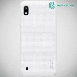 NILLKIN Super Frosted Shield Клип кейс накладка для Samsung Galaxy A10 - Белый