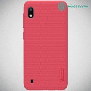 NILLKIN Super Frosted Shield Клип кейс накладка для Samsung Galaxy A10 - Красный