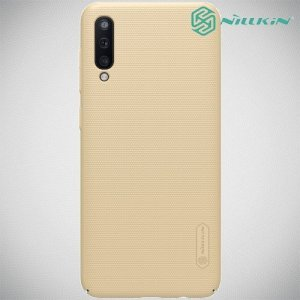 NILLKIN Super Frosted Shield Клип кейс накладка для Samsung Galaxy A50 - Золотой