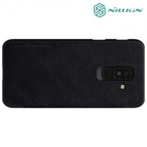NILLKIN Qin чехол флип кейс для Samsung Galaxy A6 Plus 2018 SM-A605F - Черный