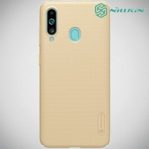 NILLKIN Super Frosted Shield Клип кейс накладка для Samsung Galaxy A60 - Золотой
