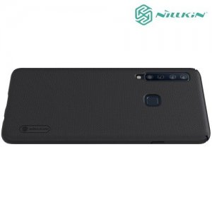 NILLKIN Super Frosted Shield Клип кейс накладка для Samsung Galaxy A9 2018 SM-A920F - Черный