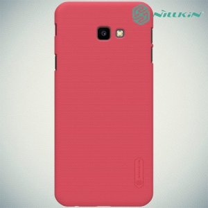 NILLKIN Super Frosted Shield Клип кейс накладка для Samsung Galaxy J4 Plus - Красный