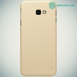 NILLKIN Super Frosted Shield Клип кейс накладка для Samsung Galaxy J4 Plus - Золотой