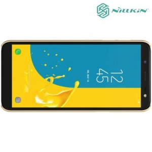 NILLKIN Super Frosted Shield Клип кейс накладка для Samsung Galaxy J6 2018 SM-J600F - Золотой