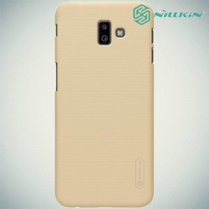 NILLKIN Super Frosted Shield Клип кейс накладка для Samsung Galaxy J6 Plus - Золотой