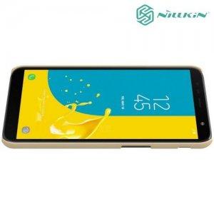 NILLKIN Super Frosted Shield Клип кейс накладка для Samsung Galaxy J6 Plus - Золотой