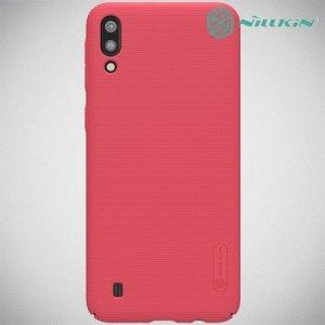 NILLKIN Super Frosted Shield Клип кейс накладка для Samsung Galaxy M10 - Красный