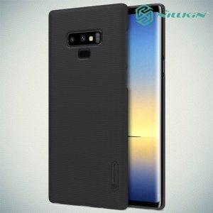 NILLKIN Super Frosted Shield Клип кейс накладка для Samsung Galaxy Note 9 - Черный