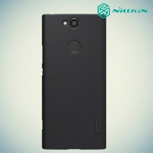 NILLKIN Super Frosted Shield Клип кейс накладка для Sony Xperia XA2 Plus - Черный