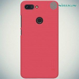 NILLKIN Super Frosted Shield Клип кейс накладка для Xiaomi Mi 8 Lite - Красный