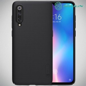 NILLKIN Super Frosted Shield Клип кейс накладка для Xiaomi Mi 9 / Mi 9 Explore - Черный